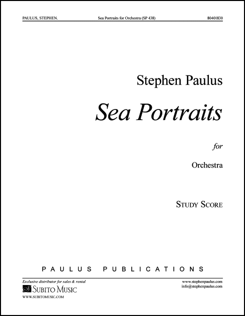 Sea Portraits for Orchestra